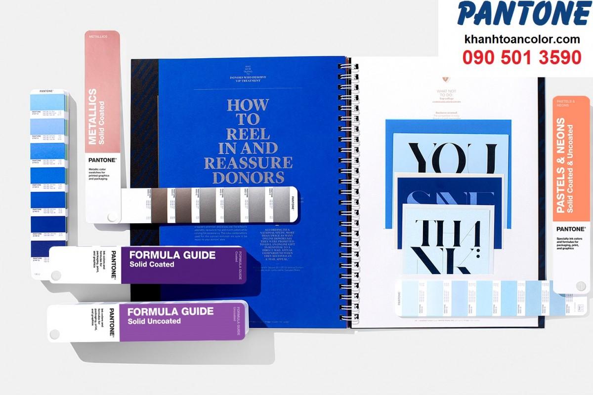 ỨNG DỤNG CỦA PANTONE C U SOLID GUIDE SET GP1605A