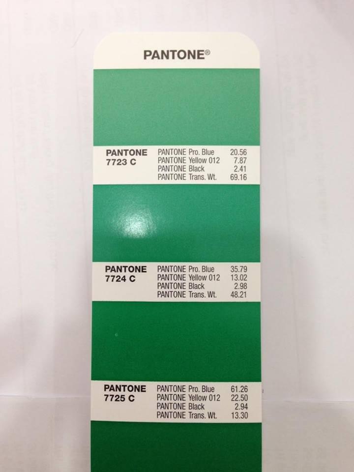 bảng màu Pantone GP1601A