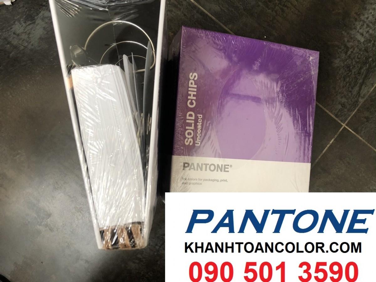 cấu tạo của 1 bộ bảng màu pantone c u solid chip gp1606a năm 2020