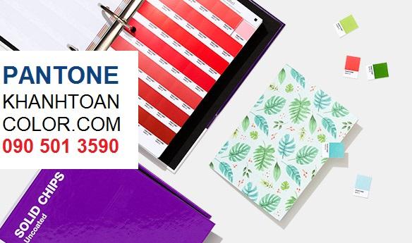 ỨNG DỤNG CỦA BỘ PANTONE C U SOLID CHIP GP1606A NĂM 2020 TRONG SẢN XUẤT.