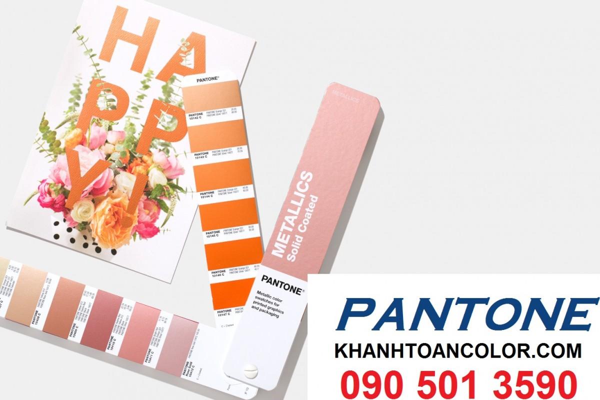 ứng dụng của thanh Pantone C Metallics Guide Coated GG1507A năm 2020